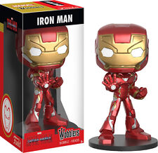 FUNKO WOBBLERS MARVEL CAPTAIN AMERICA 3 IRON MAN BOBBLE HEAD WOBBLER FIGURE