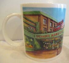 STARBUCKS 1999 Coffee Cup/Mug Pikes Peak Farmers Public Market NOS ORG. STICKER