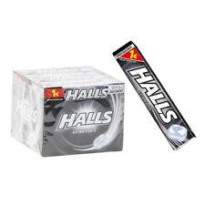 20 Stk. HALLS extra stark ohne Zucker Süßigkeiten Balsam Extraforte für Gola