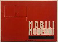 Il Linoleum ed i Mobili Moderni Societa' del Linoleum catalogo sede Milano