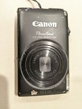 Canon PowerShot ELPH 340 HS Black No Charger AS-IS