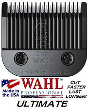 "Wahl ULTIMATE COMPETITION 9 BLADE 5/64""-2mm*Fit KM1,KM2,KM5,KM10,Max 45 Clippers"