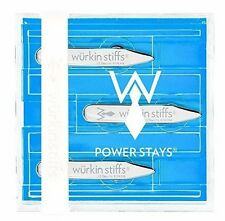 """Würkin Stiffs Magnetic Power Collar Stays (3 Pairs of 2"""" Inch Stays) Ships Free"""