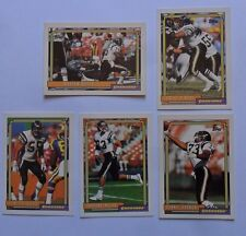 1992 Topps San Diego Chargers Football Team Set (28 Cards) ~ Junior Seau BUTTS +