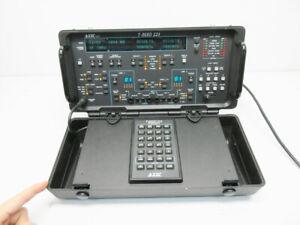 TTC ACTERNA T-BERD 224 PCM ANALYZER SS7 - 11 OPTIONS SS7 T1 VF DSP KEYPAD