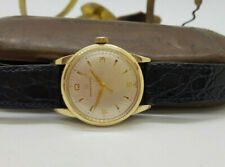 Case Automatic Man'S Watch Used Eterna-Matic Silver Dial Gp