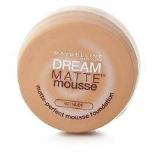Maybelline Dream Matte Mousse Perfection Foundation SPF 15 18ml 021 Nude 1 Unit
