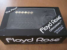 New Genuine Black Floyd Rose Original 1984 Series Trem system made in Germany