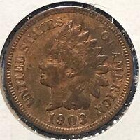 1903 1C Indian Cent (48089)
