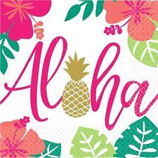 ALOHA Estate LUMINOSO ANANAS spiaggia festa hawaiana Articoli per la tavola