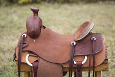 "17"" Spur Saddlery Ranch Roping Saddle (Made in Texas)"