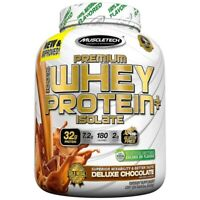 PROTEINA PREMIUM 100% WHEY PROTEIN PLUS ISOLATE 1,36kg Chocolate MUSCLETECH