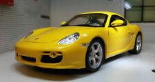 Voitures, camions et fourgons miniatures jaunes pour Porsche