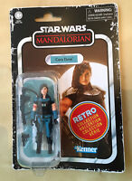 Star Wars: The Mandalorian: Retro Collection Action Figure: Cara Dune - Kenner