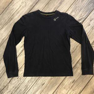 Men's Diesel Long Sleeve Purple T-Shirt Size L