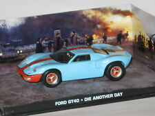 Collection Voitures de James Bond 007 n°52 Ford GT40 gulf 1/43