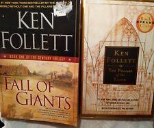 Fall of Giants: Bk 1 Century Trilogy by Ken Follett + Pillars of the Earth Bk 1
