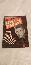 FRANK SINATRA HITS ON PARADE  Songbook Sheet Music Book Vintage 1943