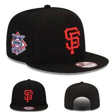 New Era San Francisco Giants Black Snapback Hat MLB National Side Patch Cap