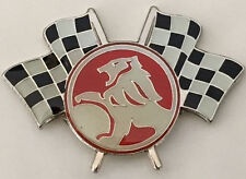 Lapel /Hat Pin Badge ~ Holden Lion Racing Flags ~      C030902