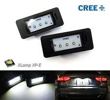 2x CREE 3 SMD LED License Plate Light kit Error Free White for AUDI VOLKSWAGEN