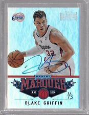 2014 15 Panini Paramount Flashback Blake Griffin 12 13 Marquee Buyback Auto 1/3