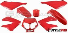 Kit carénage capot Rouge pour mzyo0on SENDA R SM DRD / X-treme gilera smt rcr
