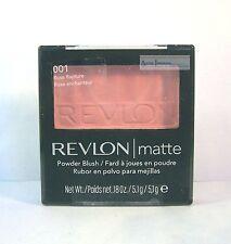 Revlon Blush Matte Powder Blush Compact - Rose Rapture 001