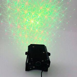 Red & Green Kaleidoscope Laser Light Show w/ Bluetooth Speaker Interactive (P)