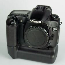 Canon EOS 30D 8.2MP Digital SLR Camera and BG-E2 battery grip