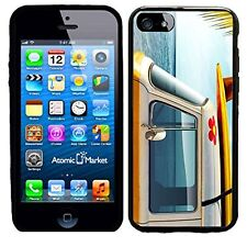 Surf Board With Retro Van For Iphone 6 Case Cover By Atomic Market