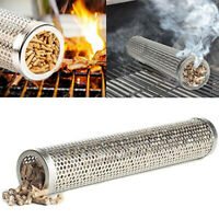 Barbecue BBQ Pellet Smoker Tube/Pipe Stainless Steel Hot/Cold Four Shape New #ws