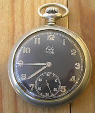 Pocket Military Edo ARSA made in Swiss. Serviced - number 202