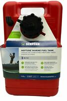 Scepter Marine Neptune Portable Fuel Tank - 3-Gallon EPA-Compliant Model#08590