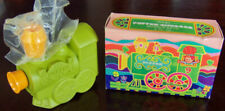 "Rare Vintage 1971 Avon ""Puffer-Chugger"" ; Frog Bubble Bath For Children Full 4 oz."