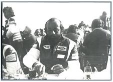 France, Henri Pescarolo, pilote automobile français Vintage silver print Tirag