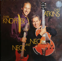 Chet Atkins And Mark Knopfler - Neck And Neck  [ 1990 UK Mint Vinyl LP Country ]