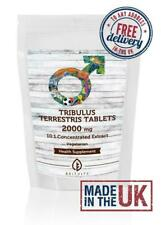 Tribulus Terrestris 2000mg 10:1 Extract Veg Tablets UK