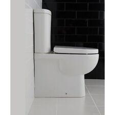 RAK Tonique Close Couple Fully Back To Wall Round Toilet Soft Seat TONBTWPAK