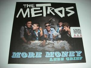 The Metros - More Money Less Grief - 12 Track SEALED