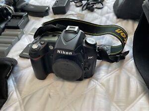 Nikon D90 DSLR Camera + Extras