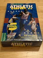 Maxx Athletic Cards 92 Complete Sealed Trading Card 48 Pack Box Rare Vintage