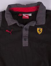 Puma Ferrari Polo Shirt Black Size S *D0611215