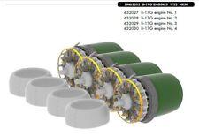 Eduard 1/32 b-17g Flying forteresse Engines for HK Models # sin63202