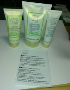 Mary Kay Satin Hands Pampering Set Deluxe MINI Travel Size White Tea And Citrus