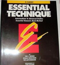Essential Technique From Essential Elements Band Method for Clarinet Brand New