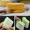 2 Pcs 5 Layers DIY Cake Bread Cutter Leveler Slicer Set Cutting Fixator Tools