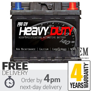 High Specification Car Battery PRO 12v HEAVY DUTY 063