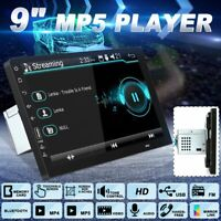 9inch 1 Din 1080P Car Stereo Radio MP5 Player bluetooth Touch Screen Head  W