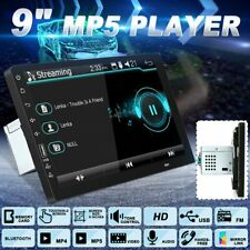 9inch 1 Din 1080P Car Stereo Radio MP5 Player bluetooth Touch Screen Head